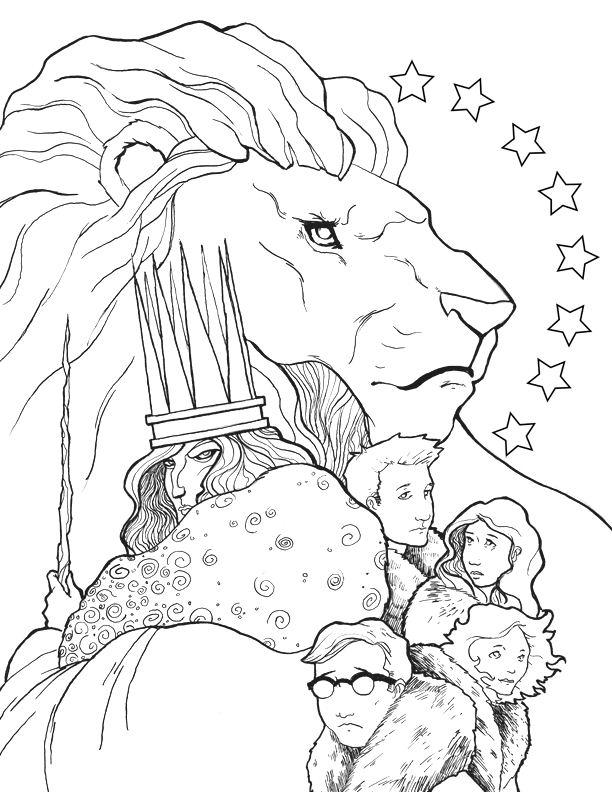 Раскраски Хроники Нарнии | Интересные