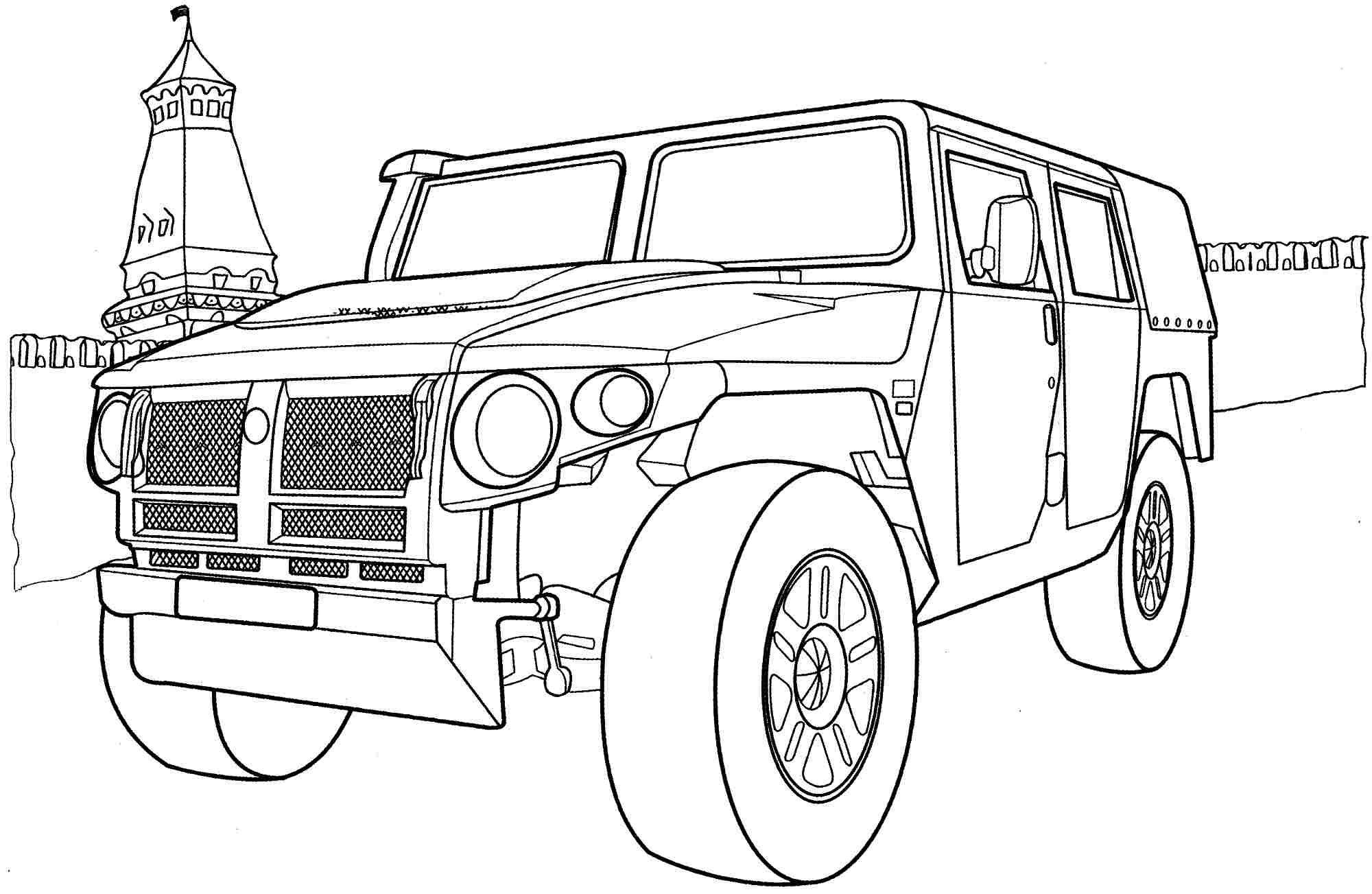 Раскраски машины | Машины