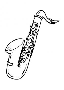 Раскраска Музыкальные инструменты | Интересные