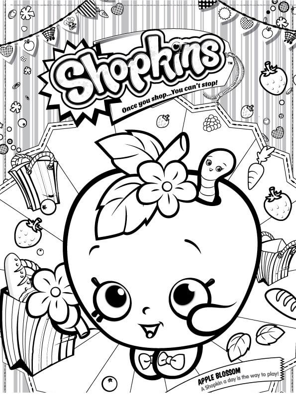 Раскраски Шопкинс | Куклы